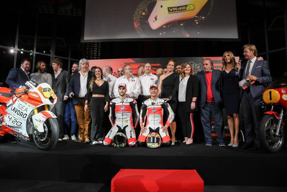 MV Agusta Idea Lavoro Forward Racing Team
