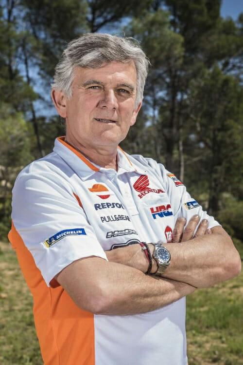 Miquel Cirera Team Manager of Honda Racing Trial