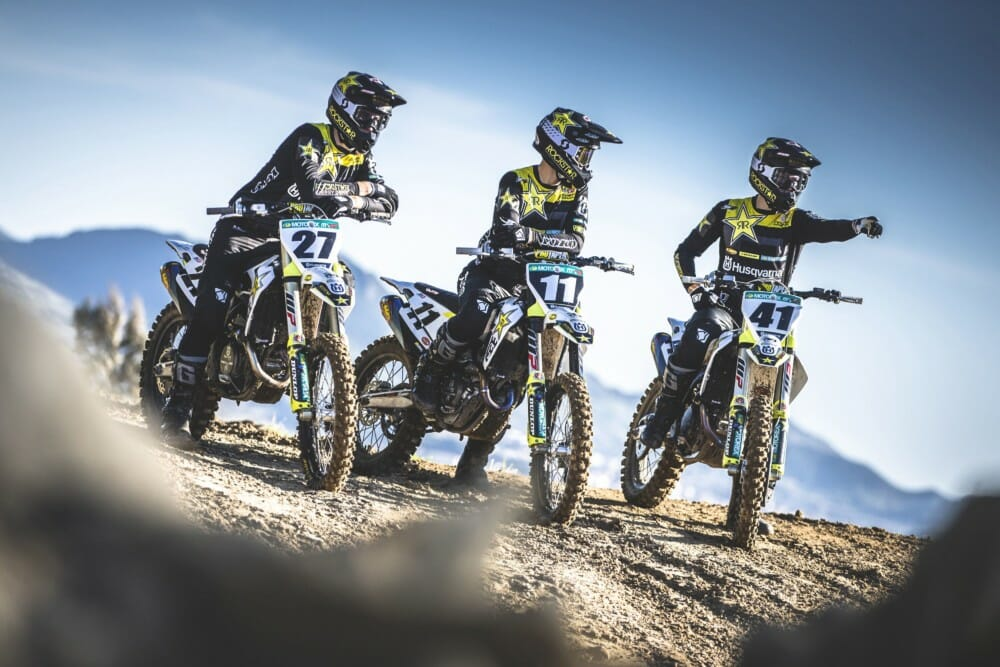 Official Images Of The 2019 Rockstar Energy Husqvarna