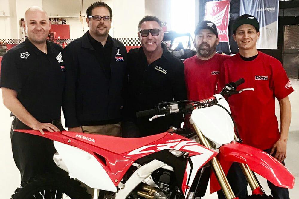 American Honda, Richie Morris Racing Partner for American Flat Track