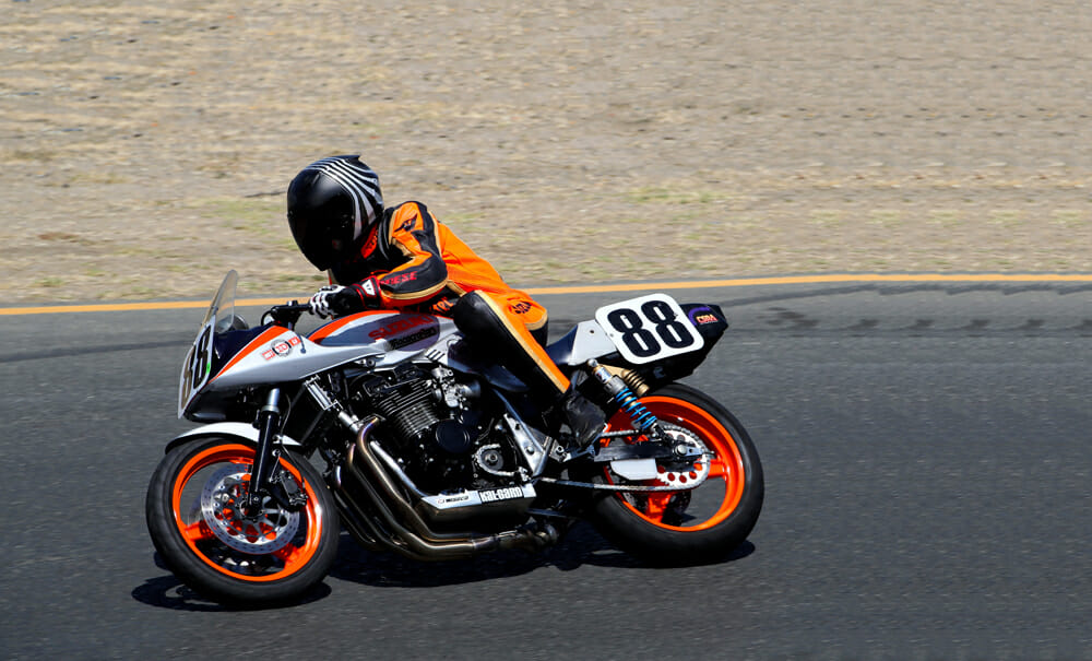 This beautiful Suzuki Katana was a huge hit at Sonoma.