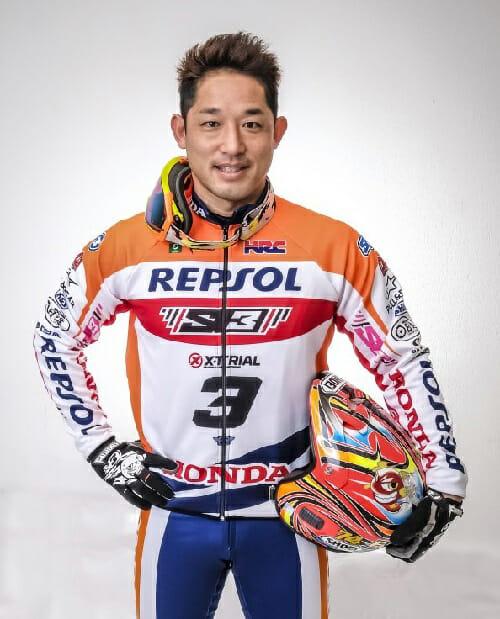 Takahisa Fujinami of Honda Racing Trial