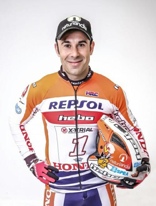 Toni Bou of Honda Racing Trial