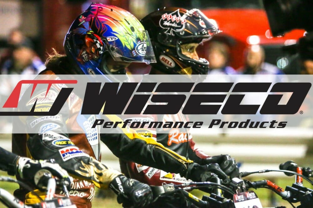 Wiseco Confirmed as Official Piston of American Flat Track for 2019