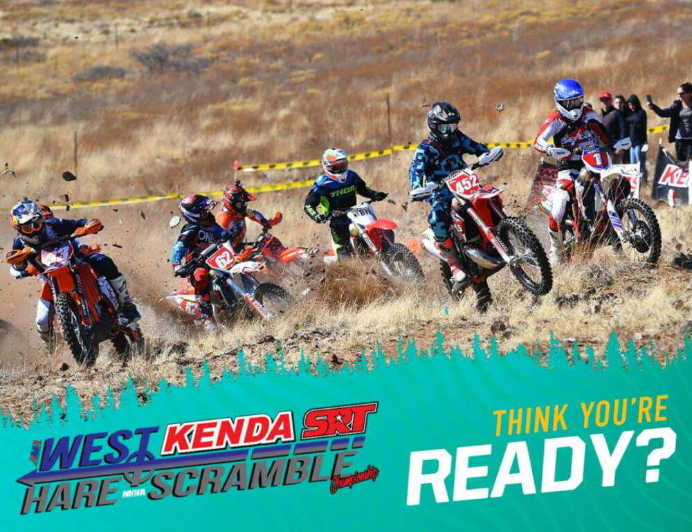 The Rough Rider 100, round two of the AMA West Hare Scramble series, is this weekend.