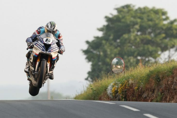Michael Dunlop back in racing