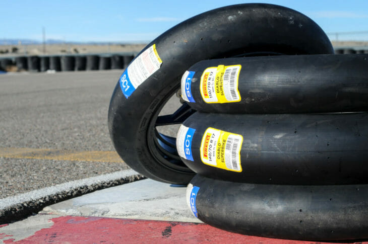 Pirelli Diablo Superbike Slicks tires