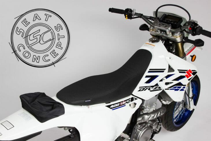 Seat Concepts Comfort Seat for 2000-19 Suzuki / Kawasaki (2000-19) DRZ / KLX 400 ($179.99).