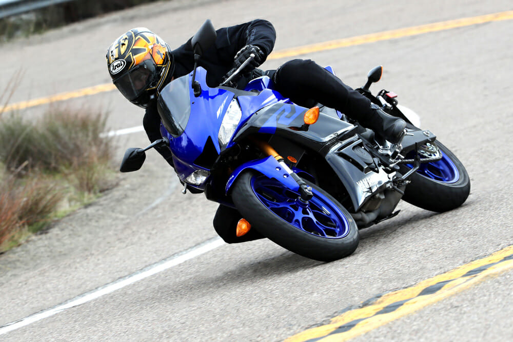 The 2019 Yamaha YZF-R3 is an excellent platform for riders to begin their sportbike journey