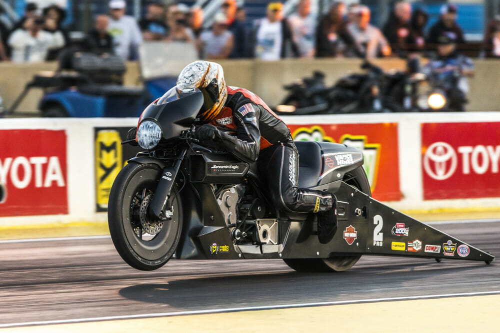 Harley-Davidson Screamin' Eagle/Vance & Hines Drag Team Set to Kick off 2019 NHRA Season at Gatornationals