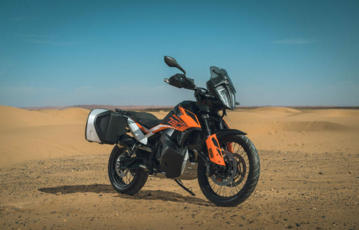 2019 KTM 790 Adventure R PowerParts