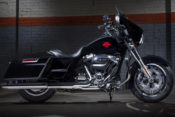 "Powered by the Milwaukee-Eight 107 engine, the new Electra Glide Standard is a ""Dressed-down Dresser."""