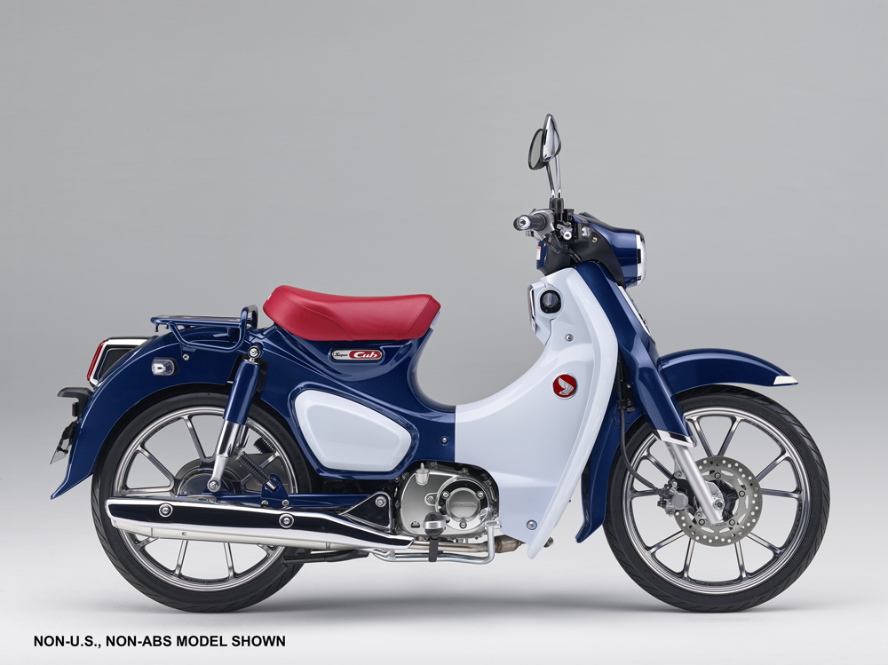 The 2019 Honda C125 Super Cub MSRP is $3599.