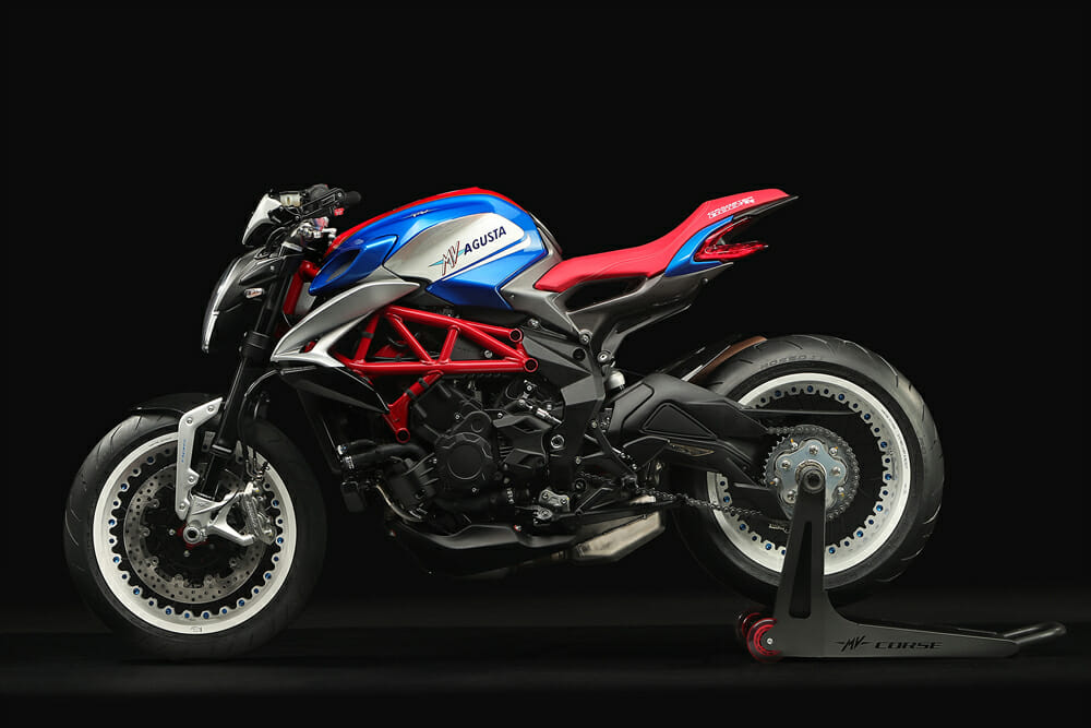 2019 MV Agusta Dragster 800 RR America side view