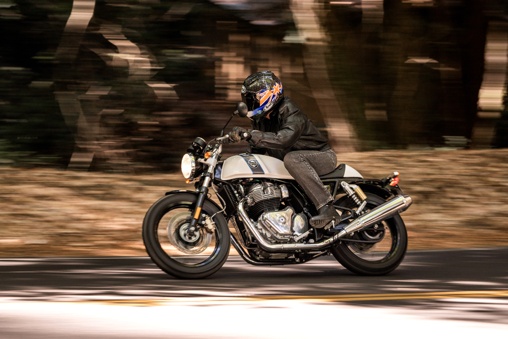 2019 Royal Enfield Continental GT 650 ride evaluation.