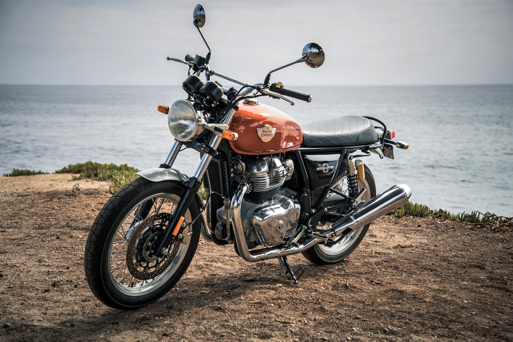 The 2019 Royal Enfield INT 650 is for beginners and seasoned riders alike.