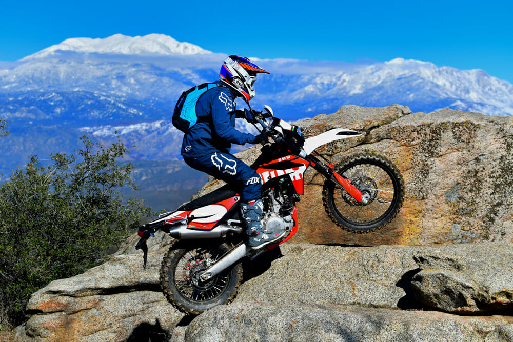 The SWM RS 500 R is a hard-core off-road dual sport but without the big price tag.
