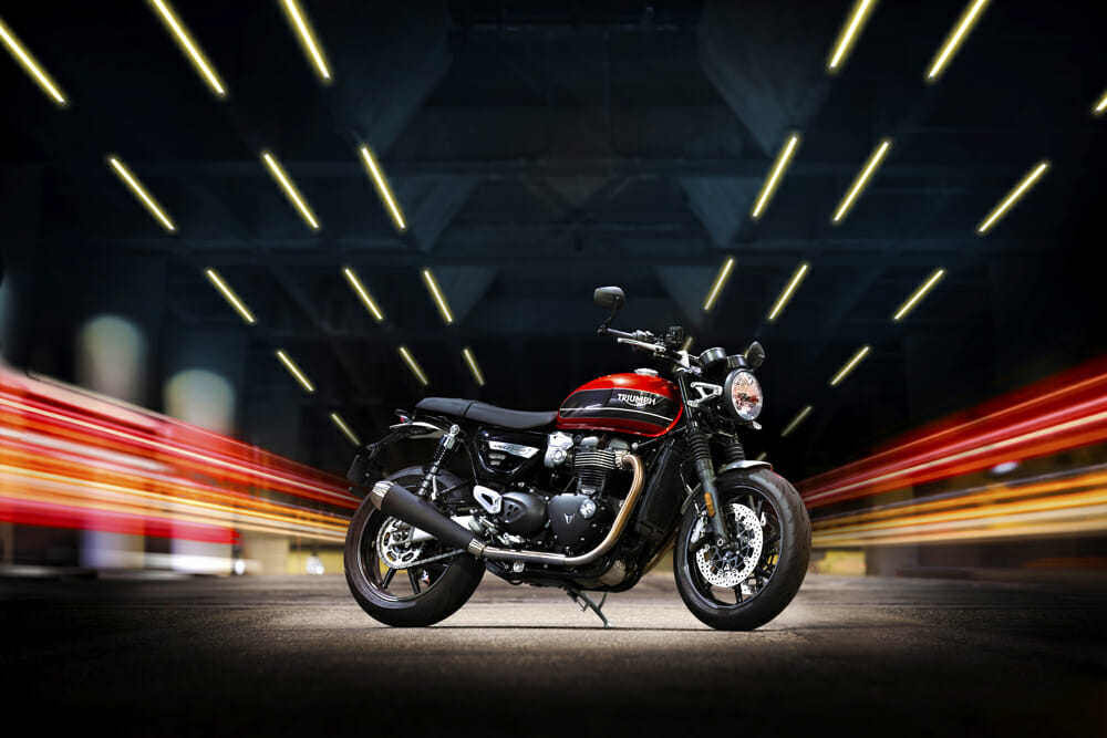 MSRP for the 2019 Triumph Speed Twin is $12,100.
