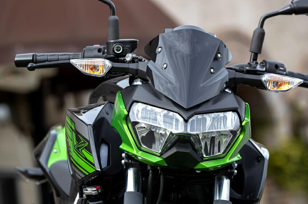 the 2019 Kawasaki Z400 ABS costs $4799.