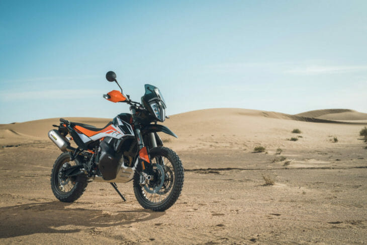 2019 KTM 790 Adventure R desert static
