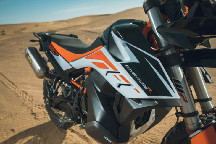 2019 KTM 790 Adventure R chassis