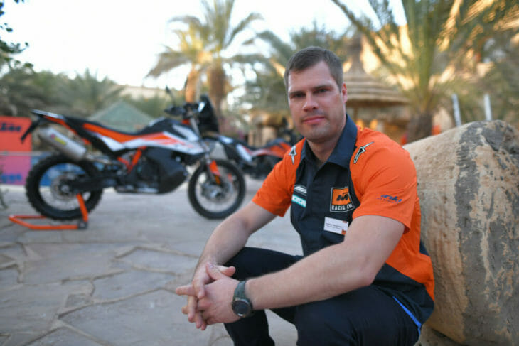 Andreas 2019 KTM 790 Adventure R shot