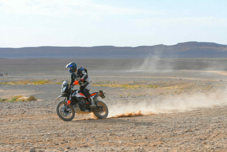2019 KTM 790 Adventure R desert shot