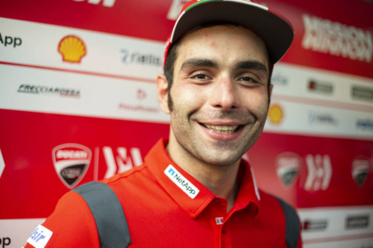 2019 MotoGP Season Preview Danilo Petrucci headshot