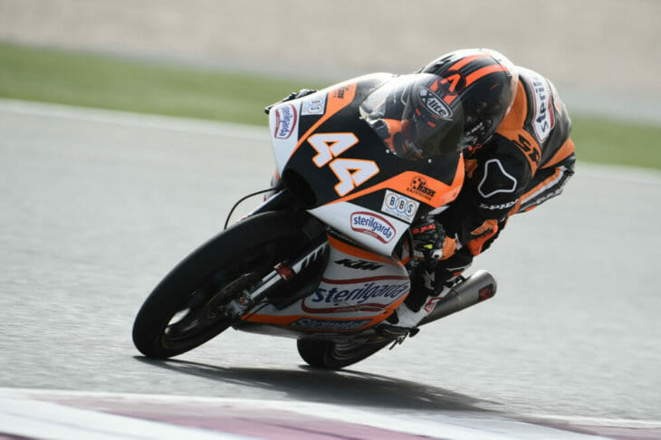 2019 MotoGP Season Preview Aron Canet action