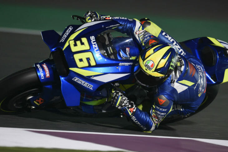 2019 MotoGP Season Preview Mir action