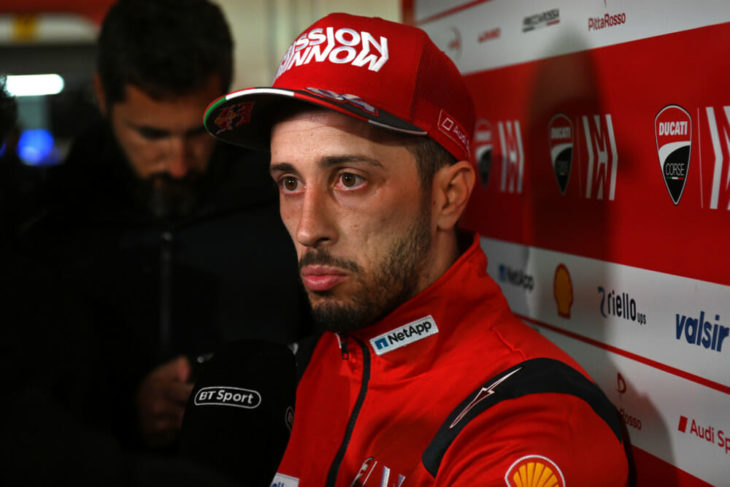 2019 MotoGP Season Preview Andrea Dovizioso headshot