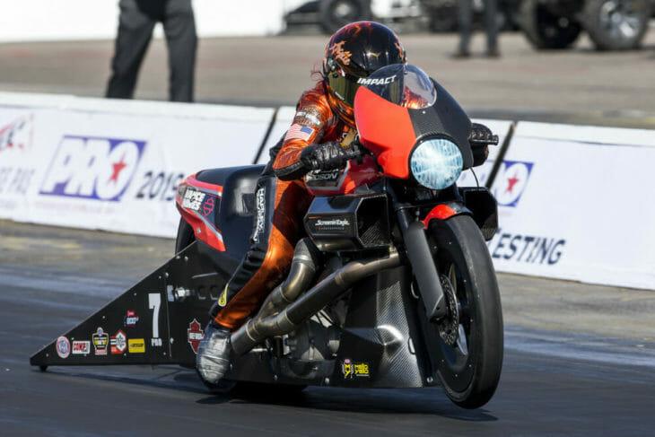 Harley-Davidson Screamin' Eagle/Vance & Hines Drag Team Set to Kick off 2019 NHRA Season at Gatornationals