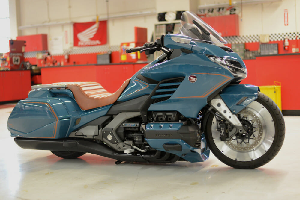 American Honda unveiled a custom-built Gold Wing as a part of its Daytona Bike Week activities.