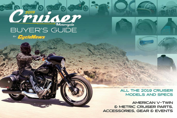 2019 Cycle News Cruiser Buyers Guide magazine cover