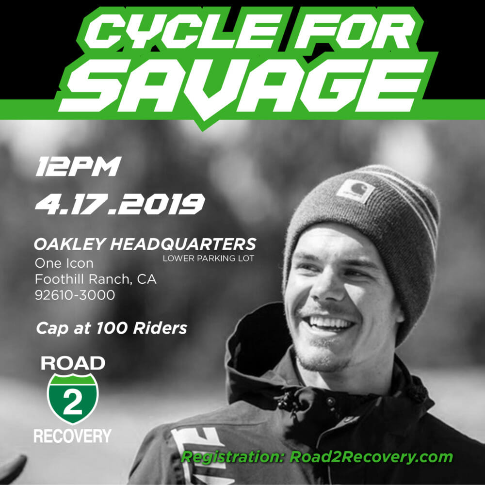 "Registration has officially opened for the highly anticipated ""Cycle for Savage"", mountain bike fundraiser ride to support Blake Savage in his road to recovery"