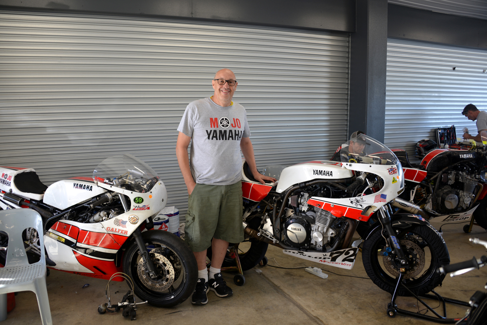 Team USA's British-born captain Dave Crussell has been coming to the Phillip Island for the Island Classic since the late 1990s and has no plans to stop racing the event just yet.