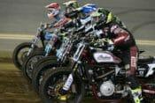 Race start at Daytona American Flat Track