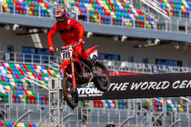 Daytona Supercross Media Day 2019
