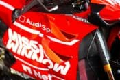 Ducati's wings are back in the news.
