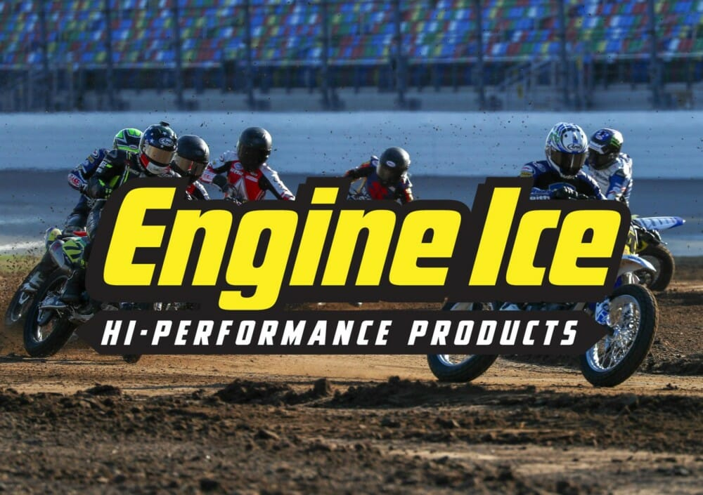Engine Ice is Official Coolant and Antifreeze of American Flat Track.