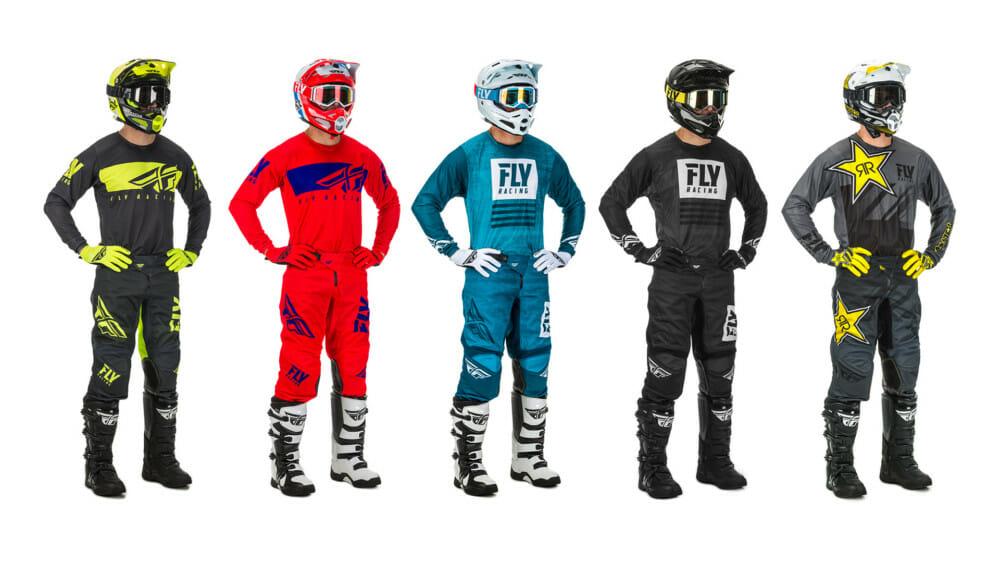 FLY Racing 2019.5 Kinetic Mesh Racewear