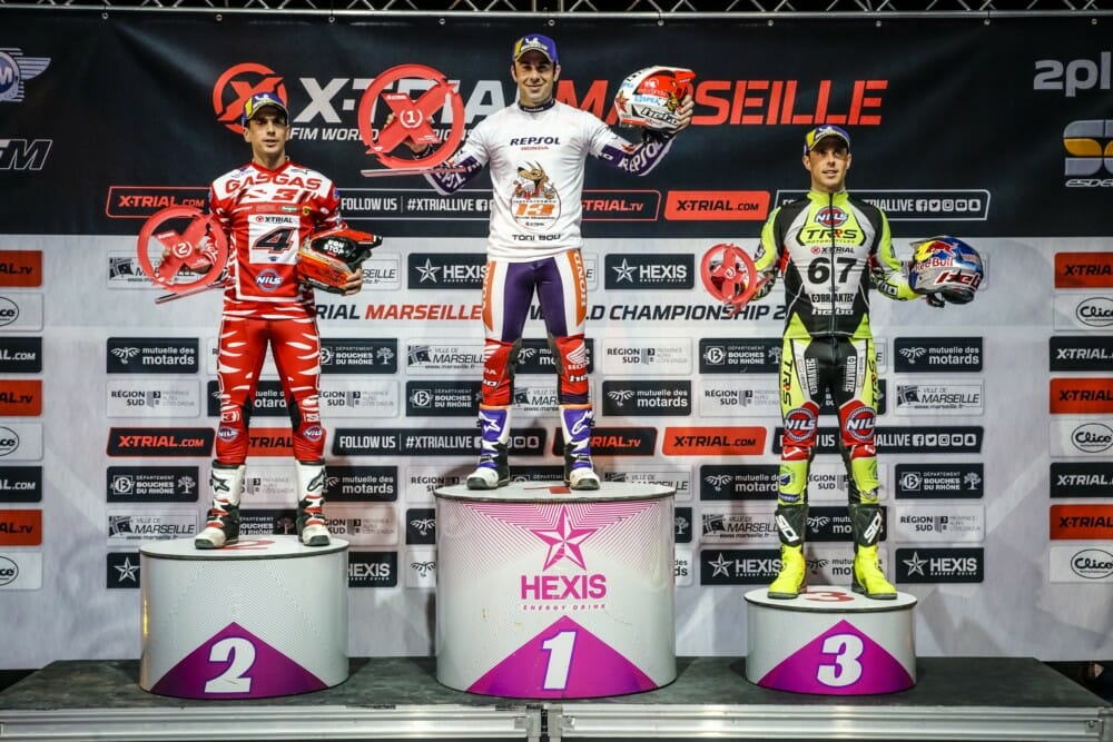 Repsol Honda Team rider Toni Bou has just been proclaimed 2019 FIM X-Trial World Champion