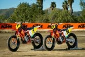 American Flat Track and KTM North America proudly solidify a partnership naming KTM an Official OEM Partner of American Flat Track for 2019. Photo-by-Simon Cudby