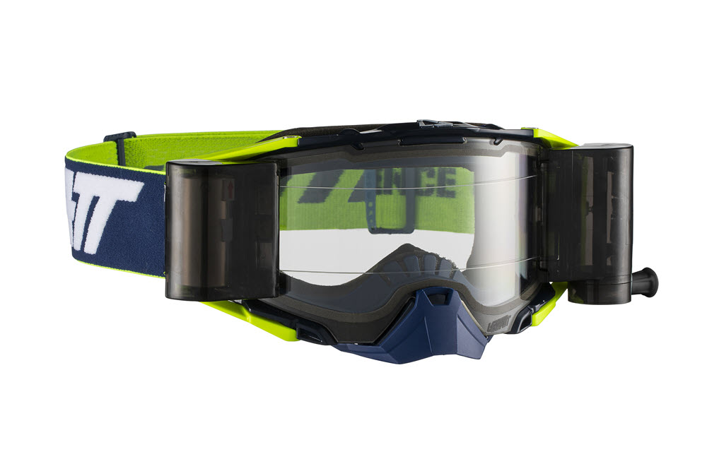 7b674b56449 Leatt offers the Velocity 6.5 goggle with a roll off system for  99.99 or  as an option that is easily installed on the standard goggles.