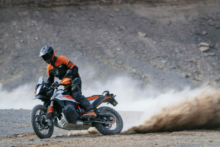 Andreas 2019 KTM 790 Adventure R Chris Birch