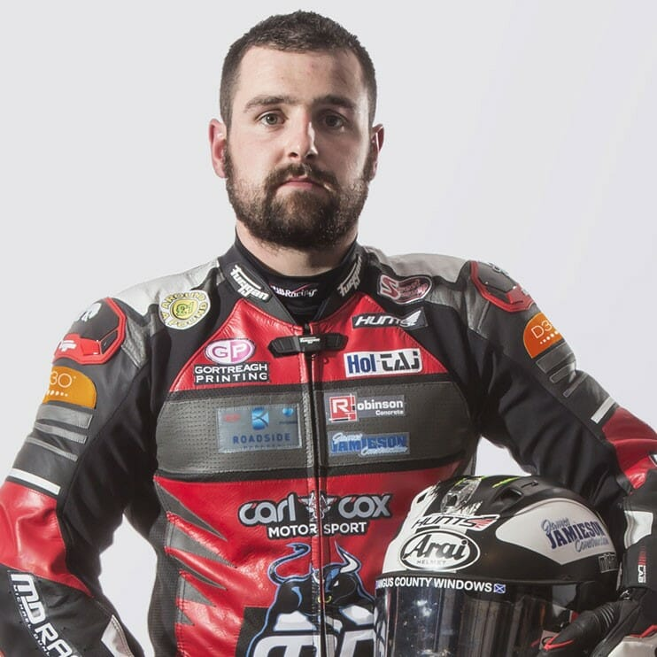 Michael Dunlop of Northern Ireland will tackle 2019 Broadmoor Pikes Peak International Hill Climb.