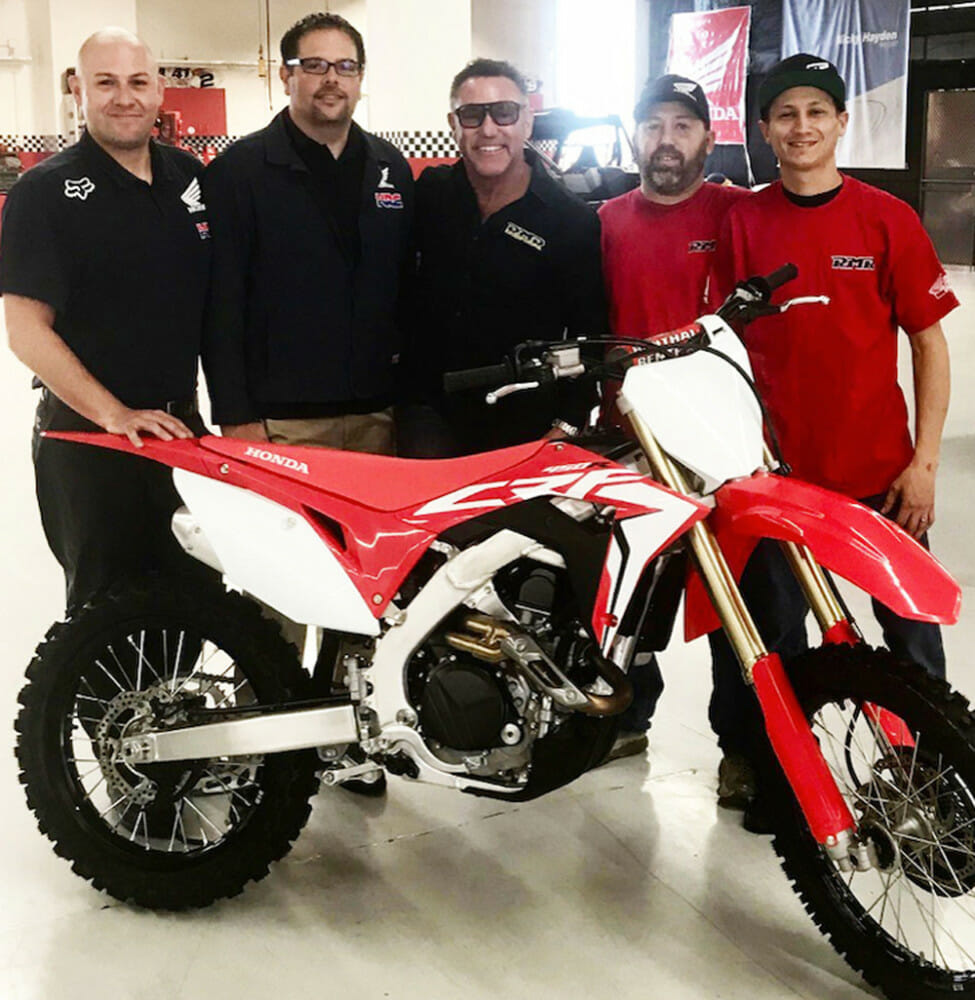 Honda is sponsoring Mikey Rush and the Richie Morris Racing (RMR) Team for 2019 AFT.