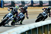 Jared Mees (1) racing in 2019 AFT Twins Championship.