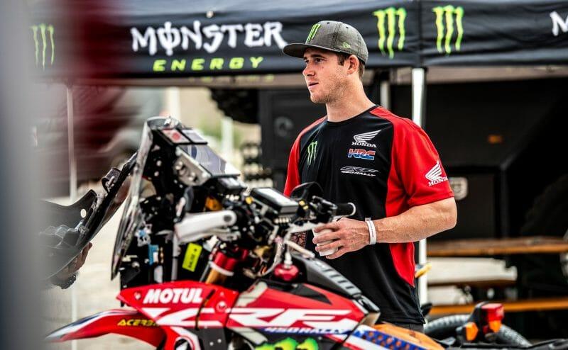 American Monster Energy Honda Team rider Ricky Brabec