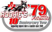 Rookies of '79 Continues as Official Charity of American Flat Track